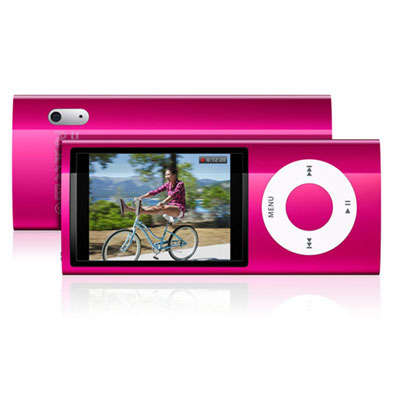 Apple iPod Nano 8GB 5th Gen. MP3 Player + Camera Pink