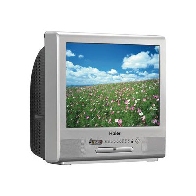 Haier Tcr20 20-inch Crttv/dvd Combination W/atsc Tuner Picture