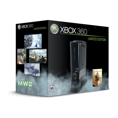 Microsoft Xbox 360 250GB Modern Warfare 2 Bundle